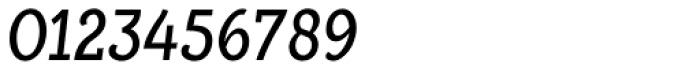 Alumina 58 Roman Condensed Italic Font OTHER CHARS