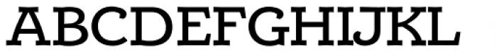 Alumina 63 Medium Ex Font UPPERCASE