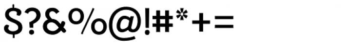 Alumina 65 Medium Font OTHER CHARS