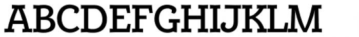Alumina 65 Medium Font UPPERCASE
