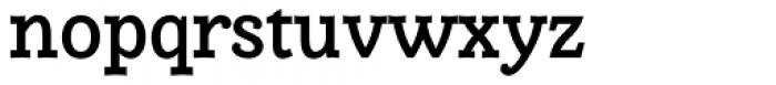 Alumina 65 Medium Font LOWERCASE