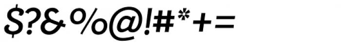 Alumina 66 Medium Italic Font OTHER CHARS