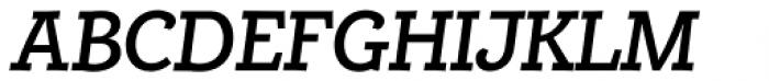 Alumina 66 Medium Italic Font UPPERCASE