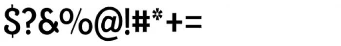 Alumina 67 Medium Condensed Font OTHER CHARS
