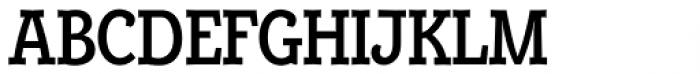 Alumina 67 Medium Condensed Font UPPERCASE