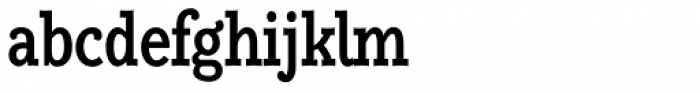 Alumina 67 Medium Condensed Font LOWERCASE
