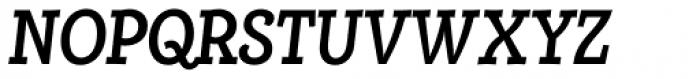 Alumina 68 Medium Condensed Italic Font UPPERCASE