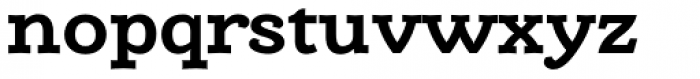 Alumina 73 Bold Ex Font LOWERCASE