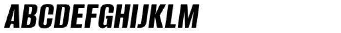 Alumni Sans Bold Italic Font UPPERCASE