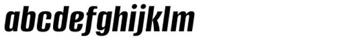 Alumni Sans Bold Italic Font LOWERCASE