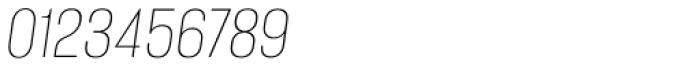 Alumni Sans Hairline Italic Font OTHER CHARS