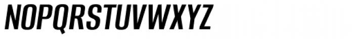 Alumni Sans Medium Italic Font UPPERCASE