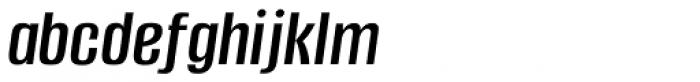 Alumni Sans Medium Italic Font LOWERCASE