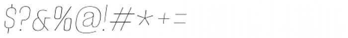 Alumni Sans Pinstripe Italic Font OTHER CHARS