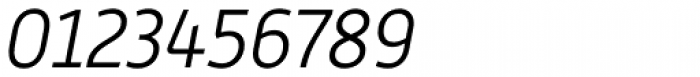 Alwyn New Light Italic Font OTHER CHARS