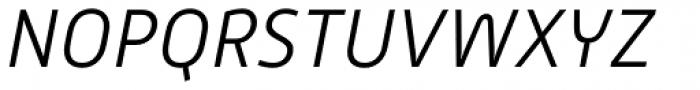 Alwyn New Light Italic Font UPPERCASE