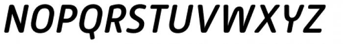 Alwyn New Rounded Medium Italic Font UPPERCASE