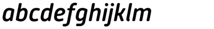 Alwyn New Rounded Medium Italic Font LOWERCASE