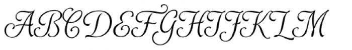 Alys RR Light Font UPPERCASE