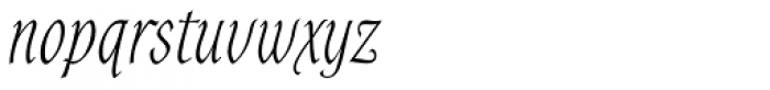 Alys RR Light Font LOWERCASE