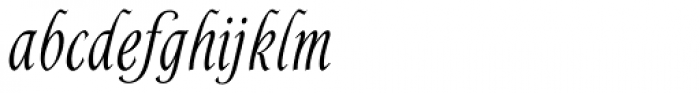 Alys RR Medium Font LOWERCASE