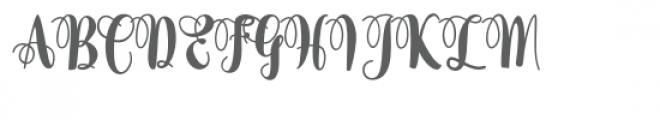 Almaida Font UPPERCASE