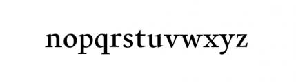 Alias Union Medium Font LOWERCASE
