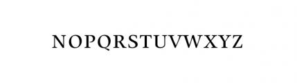 Alias Union SC Regular Font LOWERCASE