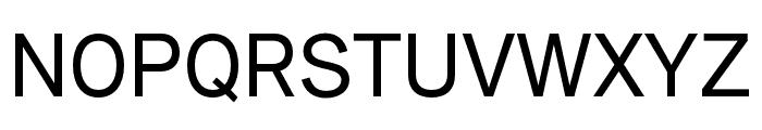 Amurg Regular Font UPPERCASE