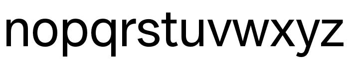 Amurg Regular Font LOWERCASE