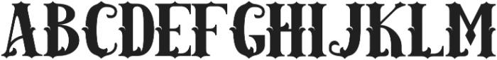 AMAZINGA otf (400) Font UPPERCASE