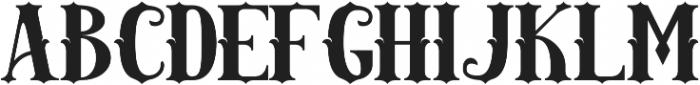 AMAZINGA otf (400) Font LOWERCASE