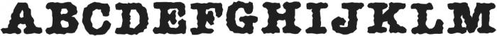 AMTW-R otf (400) Font UPPERCASE