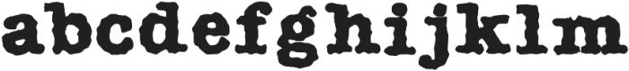 AMTW-R otf (400) Font LOWERCASE