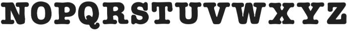AMTW-Reg otf (400) Font UPPERCASE