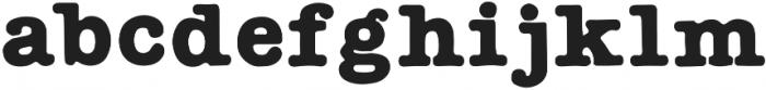 AMTW-Reg otf (400) Font LOWERCASE