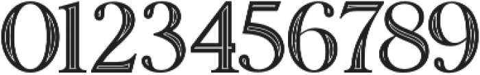 Amadeust Inline otf (400) Font OTHER CHARS