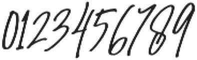 Amanda Santiago Alternate Slant Regular otf (400) Font OTHER CHARS