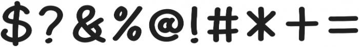 AmarillExt otf (400) Font OTHER CHARS
