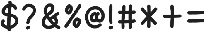 AmarillReg otf (400) Font OTHER CHARS