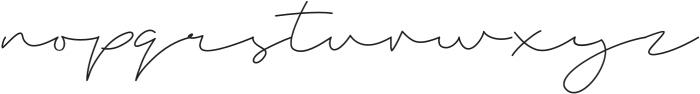 Amarna Script otf (400) Font LOWERCASE