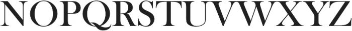 Amarna Serif otf (400) Font UPPERCASE
