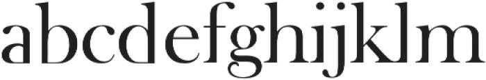 Amarna Serif otf (400) Font LOWERCASE