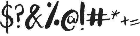 Amazeballz Brush ttf (400) Font OTHER CHARS