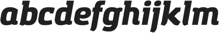 Amazing Grotesk Heavy Italic ttf (800) Font LOWERCASE