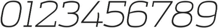 Amazing Grotesk Light Italic ttf (300) Font OTHER CHARS
