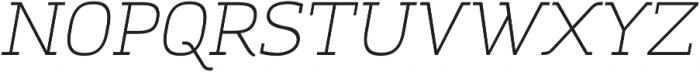 Amazing Grotesk Light Italic ttf (300) Font UPPERCASE