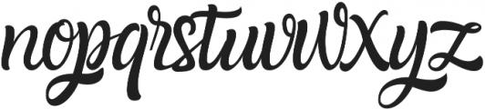 Amazone otf (400) Font LOWERCASE