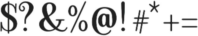 Ambar Serif otf (400) Font OTHER CHARS