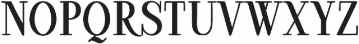 Ambar Serif otf (400) Font UPPERCASE